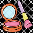 Blush On Makeup Face Blush Powder Icon
