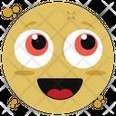 Blushing Emoji Icon