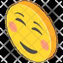Blushing Smiley Icon