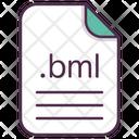 Bml File Document Icon