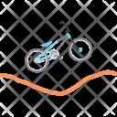 Bmx Bicycle Motocross Icon