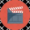 Board Clapper Cut Icon