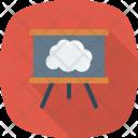 Board Greenboard Cloud Icon