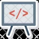 Board Code Coding Icon