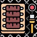 Board Sauce Ribs Icon