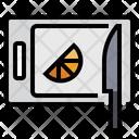 Board Chopping Block Chopping Board Icon