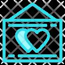 Board Love Hearts Icon