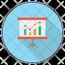 Board Chart Presentation Icon