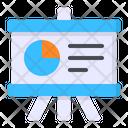 Board Presentation Graph Icon