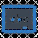 Board Abc Education Icon