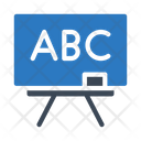 Board Abc Teaching Icon