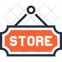 Board Hanger Market Icon