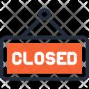 Board Closed Hanger Icon