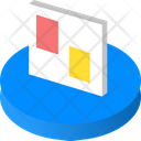 Schedule Isometric Board Icon