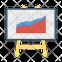 Board Presentation Chart Icon