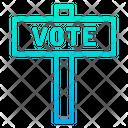 Vote Board Democracy Election Icon