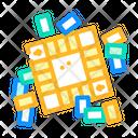 Board Game Color Icon