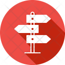 Board Direction Path Icon