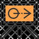 Board Design Stationery Icon