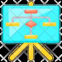 Board Flow Chart Icon