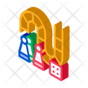 Billiard Board Children Icon