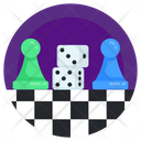 Dice Game Board Game Indoor Game Icon