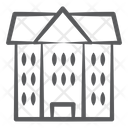 Boarding House Residential Flats Apartments Icon