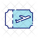 Boarding Pass Flight Ticket Flight Pass Icon