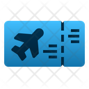 Boarding Pass Ticket Airplane Icon