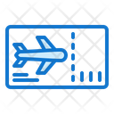 Boarding Pass Travel Photography Icon