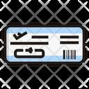 Boarding Pass Ticket Flight Ticket Icon