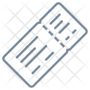Boarding Pass Visa Icon