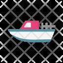 Boat Cruise Sea Icon