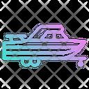 Boat Ship Trailer Icon