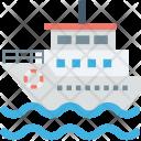 Boat Cruise Ship Icon