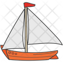 Watercraft Ship Cruise Icon