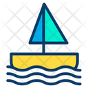 Baby Toy Baby Boat Toy Icon