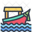 Boat Ship Sea Icon