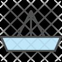 Boat Paper Origami Icon