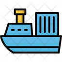 Boat Cruise Ship Icon