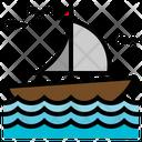 Boat Sail Boat Sailing Icon