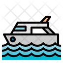 Boat Luxury Yacht Transportation Icon
