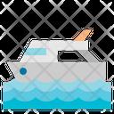 Boat Luxury Yacht Transportation Icon
