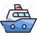 Boat Sea Vacation Icon