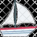Boat Cargo Import Export Icon
