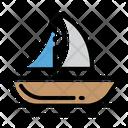 Boat Sea Lake Icon