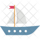 Boat Sailboat Ship Icon