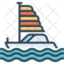 Boat Silhouette Sailboat Icon