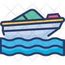 Boat Sailor Ship Icon