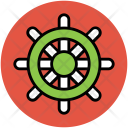 Boat Steering Wheel Icon